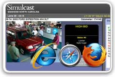 Simulcast on multiple browsers